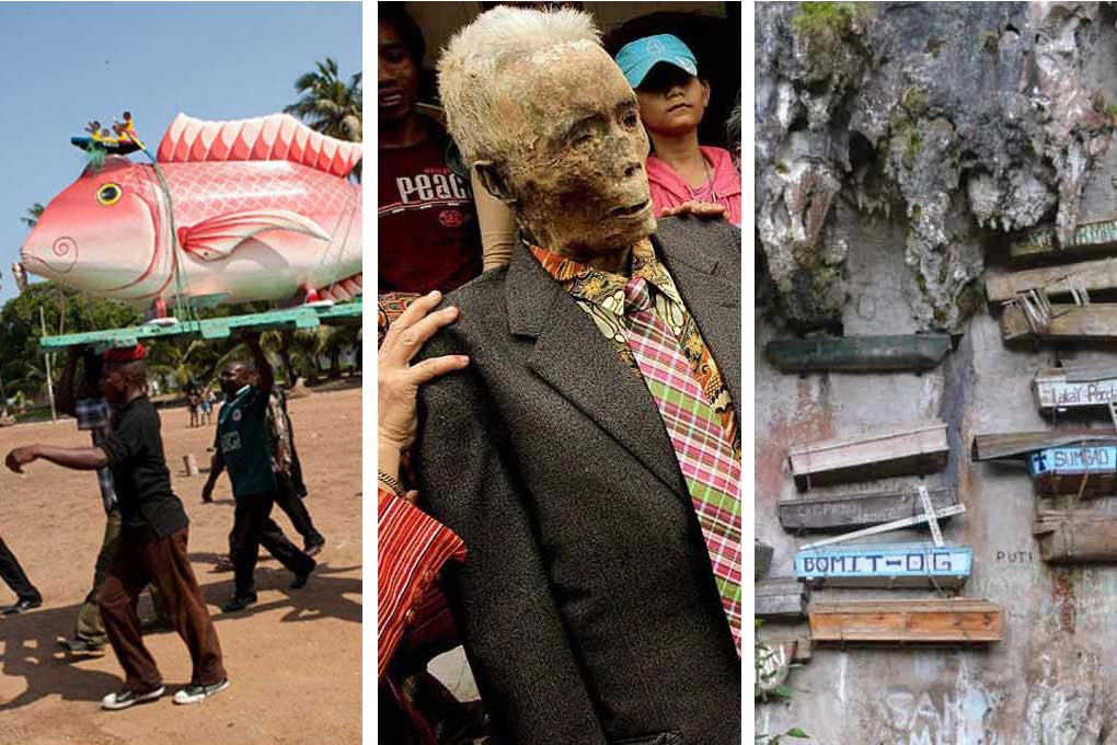 Fascinating Funeral Rituals from around the  globe